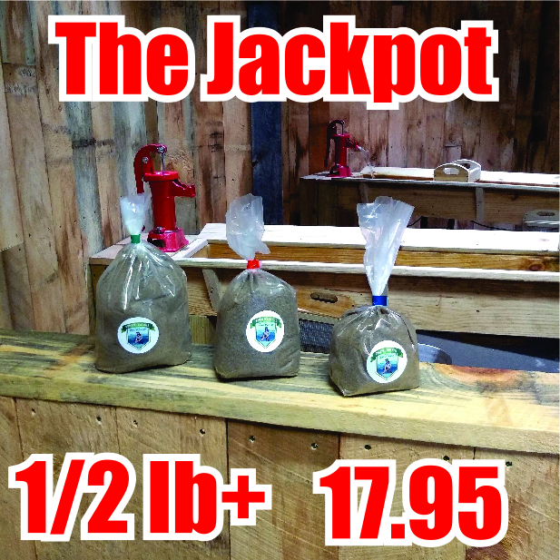 Gem Mining - The JackPot over a 1/2 pound of Gems